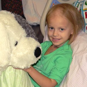 Marnie, pediatric cancer survivor