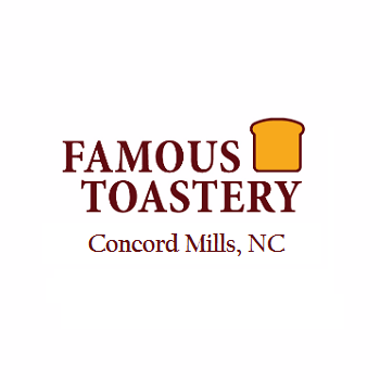 Concord Mills Famous Toastery Logo